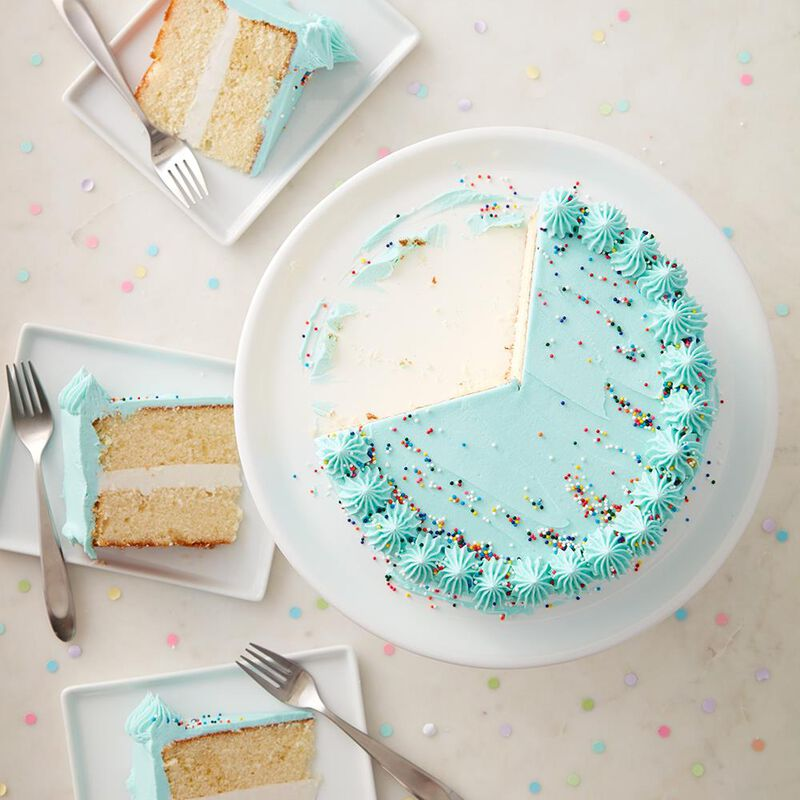 Classic Blue Cake image number 2