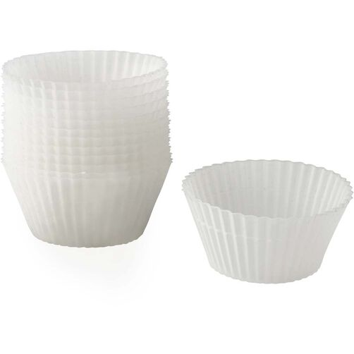 Wilton 12-Piece Clear Silicone Baking Cup Set