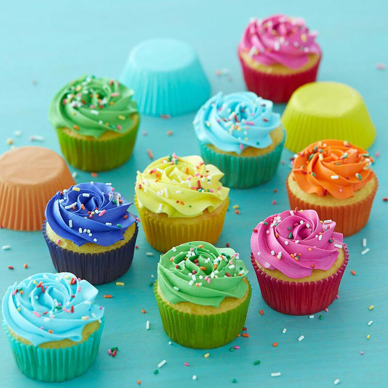 Bright Standard Cupcake Liners, 300-Count image number 4