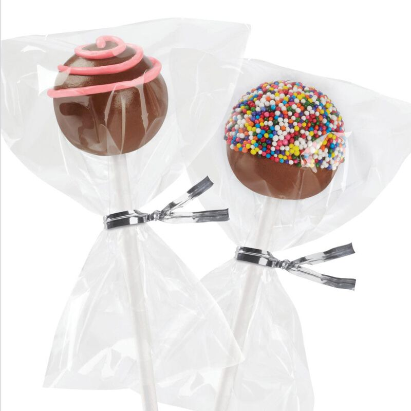 Clear Treat Bags, 100-Count image number 3