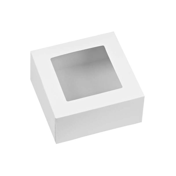 White Cupcake Boxes, 3-Count