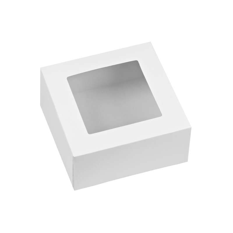 White Cupcake Boxes, 3-Count image number 0