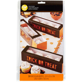 Trick Or Treat Boxes, 3-Count