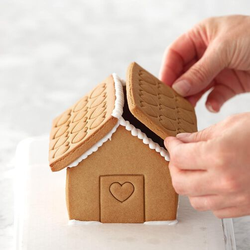 Build it yourself valentines day gingerbread house kit wilton valentine39s day gingerbread house kit solutioingenieria Choice Image