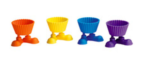 Silly Feet Silicone Baking Cups