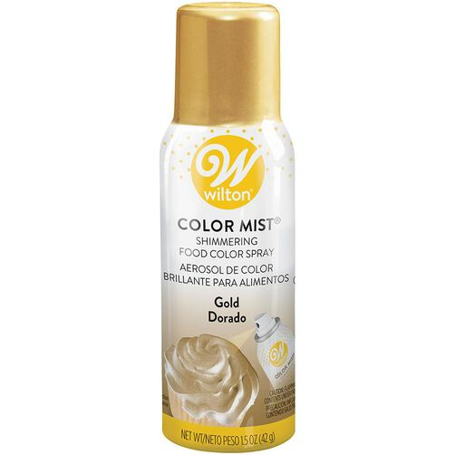 Gold Color Mist Shimmering Food Color Spray, 1.5 oz.