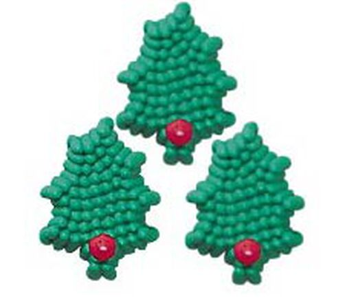 Mini Holly Icing Decorations