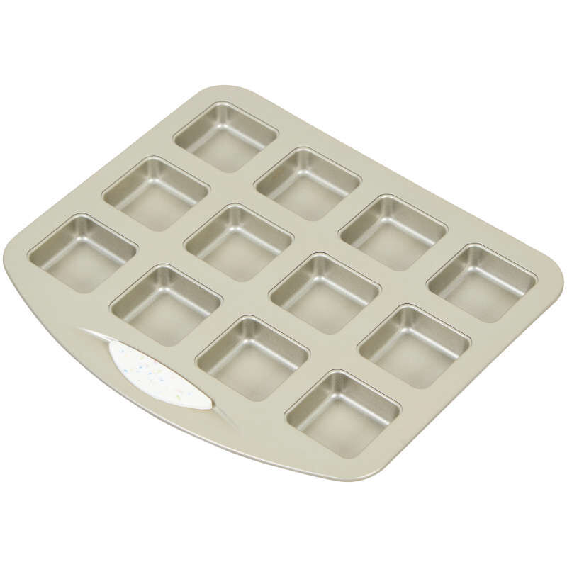 Daily Delights Non-Stick Mini Square Pan, 12-Cavity image number 1