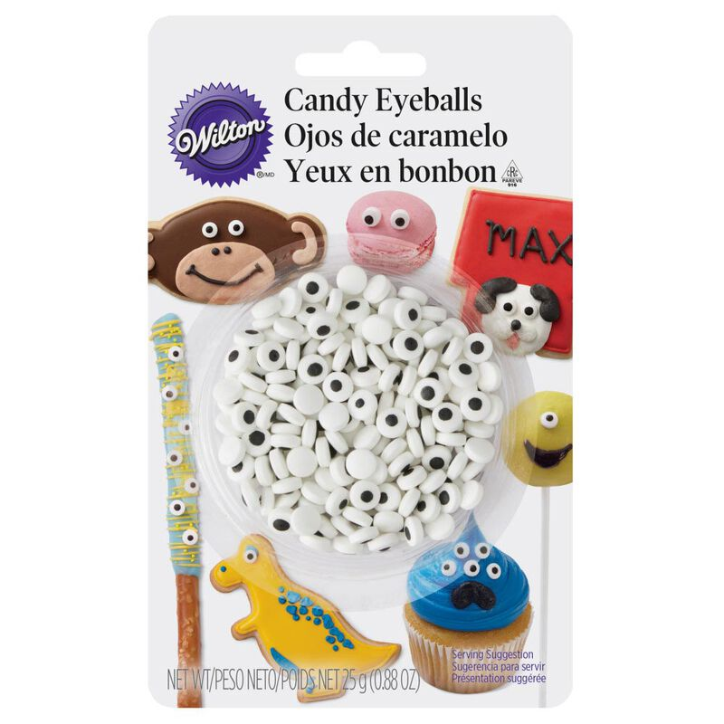 Candy Eyeballs, 0.88 oz. - Candy Decorations image number 0
