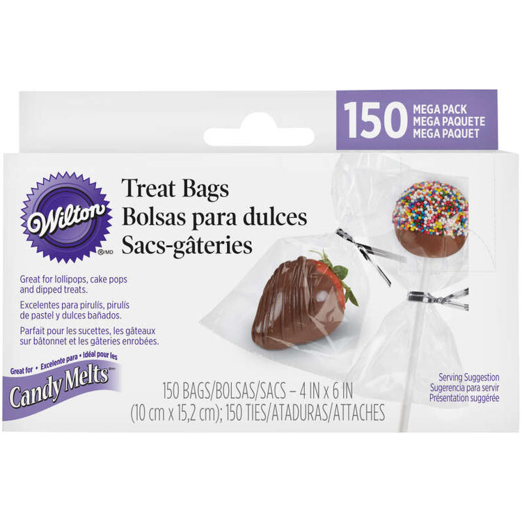 Clear Candy Bags in Packaging