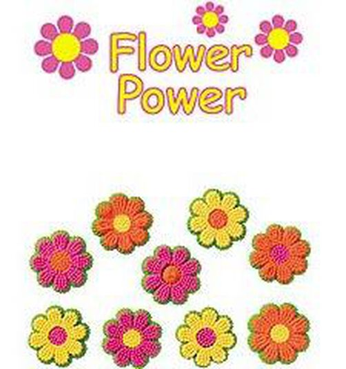 Flower Power Icing Decorations Wilton