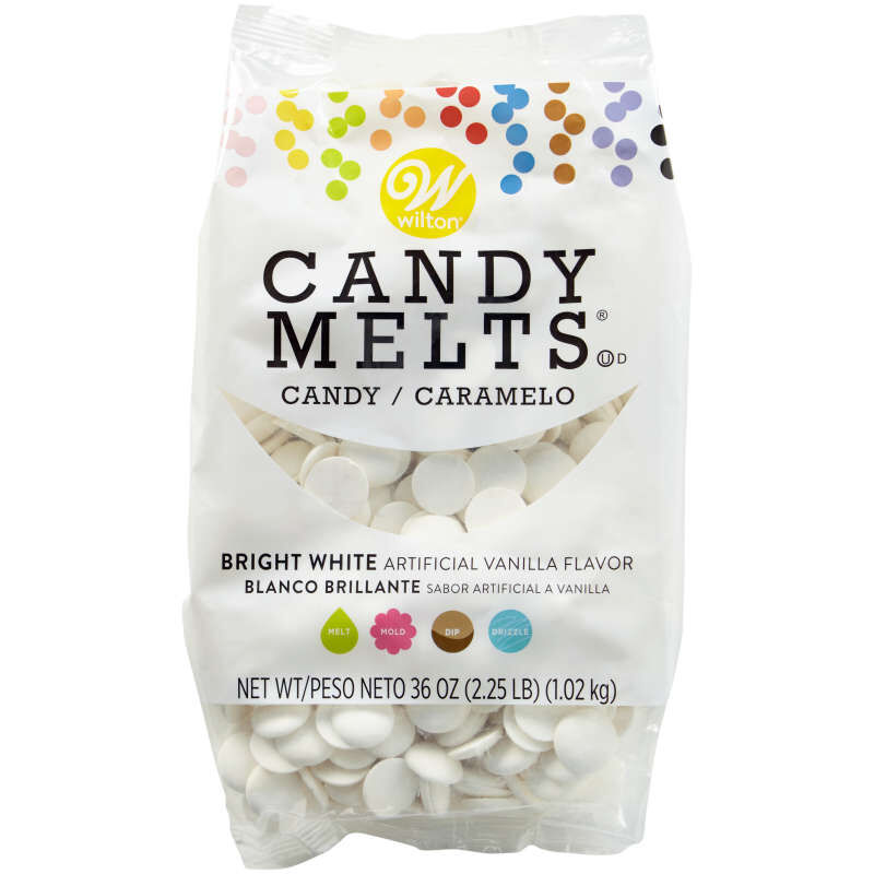 Bright White Candy Melts® Candy, 36 oz. image number 0