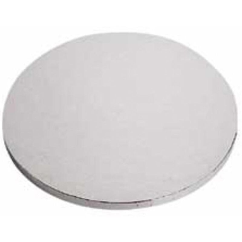 14-Inch Round Silver Cake Circles, 2-Count - Cake Bases image number 0