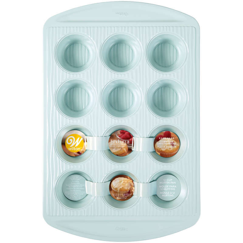 Texturra Performance Non-Stick Bakeware Muffin Pan, 12-Cup image number 1