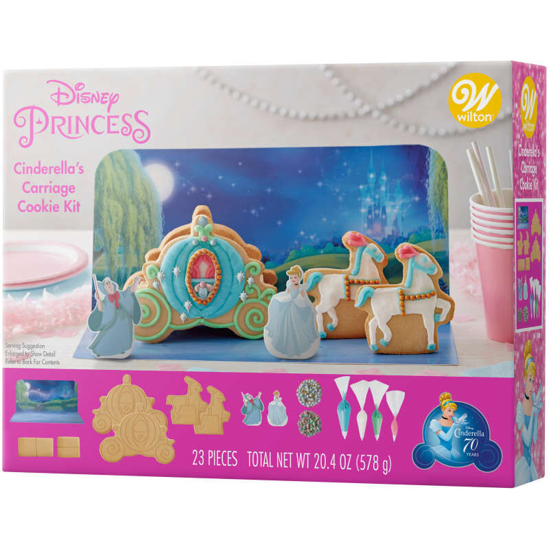 Disney Cinderella's Carriage Cookie Decorating Kit image number 2