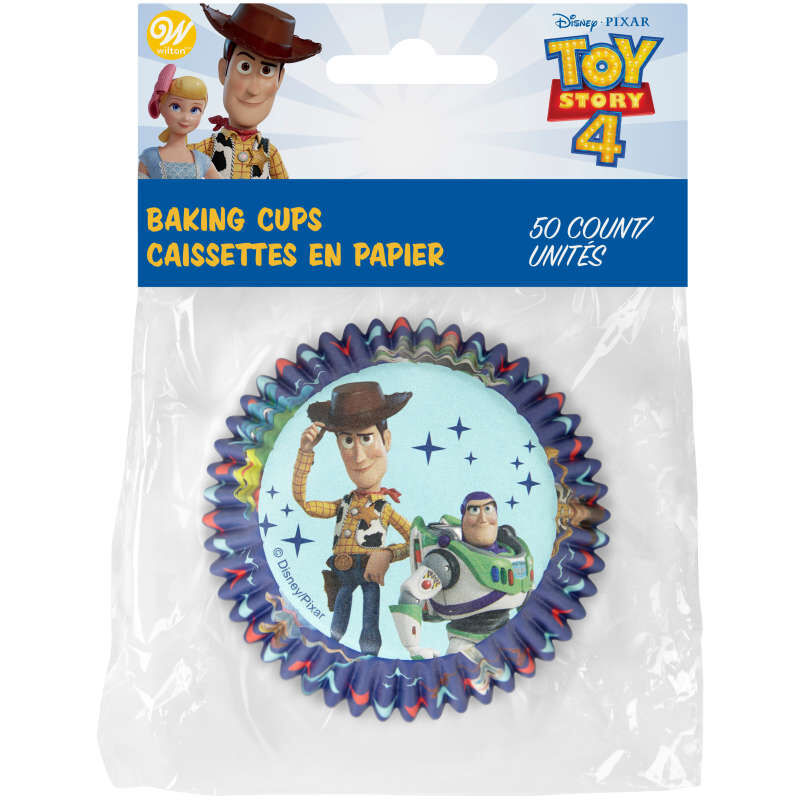 Disney Pixar Toy Story 4 Cupcake Liners, 50-Count image number 1