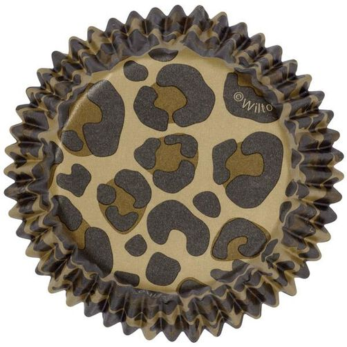 ColorCups Leopard Cupcake Liners