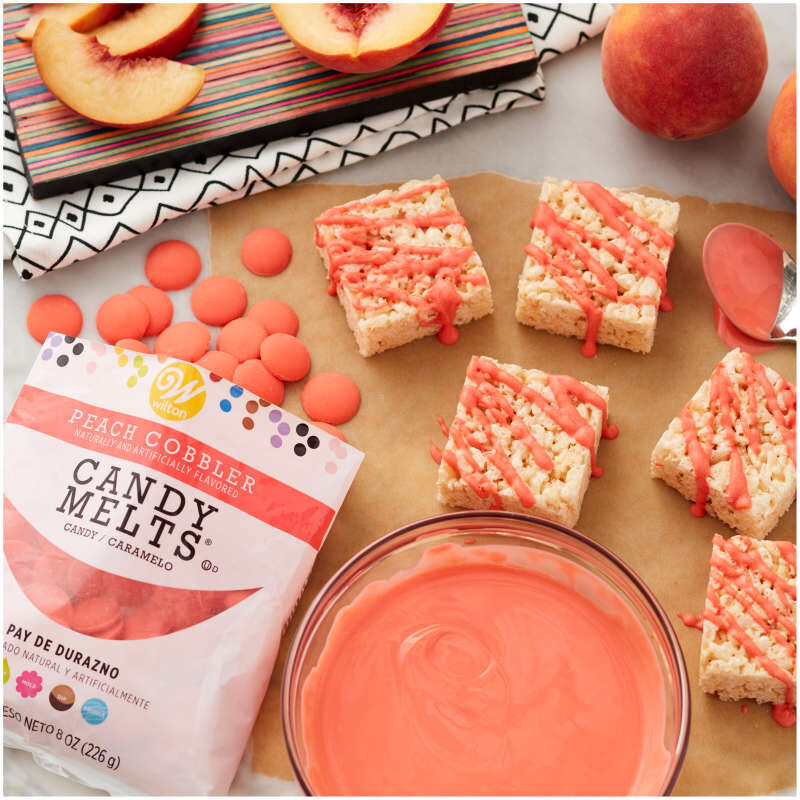 Peach Cobbler Candy Melts Candy image number 3