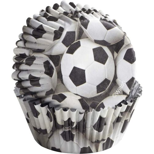 ColorCups Soccer Cupcake Liners