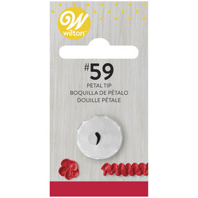 No. 59s/59 Petal Decorating Tip