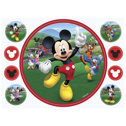 Mickey and the Roadster Racers Sugar Sheet