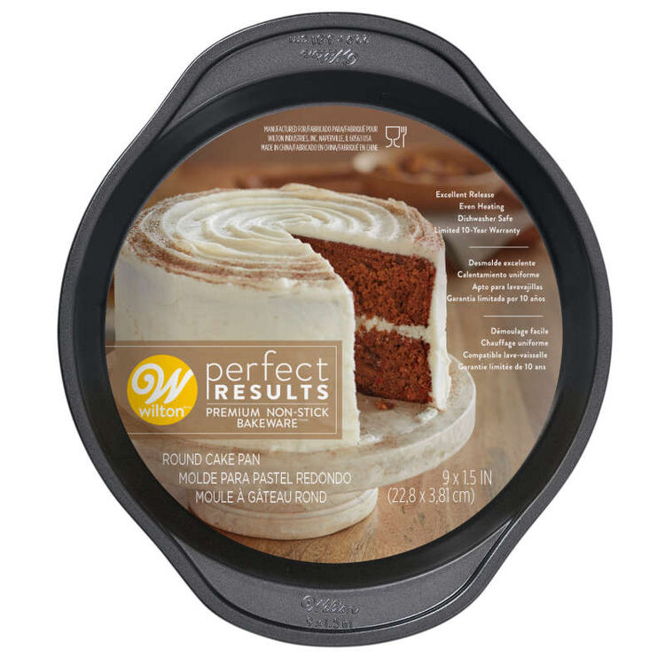 Perfect Results Round Non-Stick Cake Pan, 9 Inches