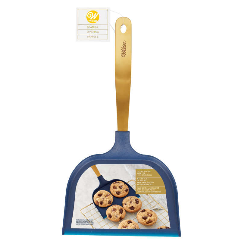 Navy and Gold Really Big Spatula image number 1
