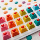 ROSANNA PANSINO by Silicone Gem Shapes Candy Mold, 12-Cavity