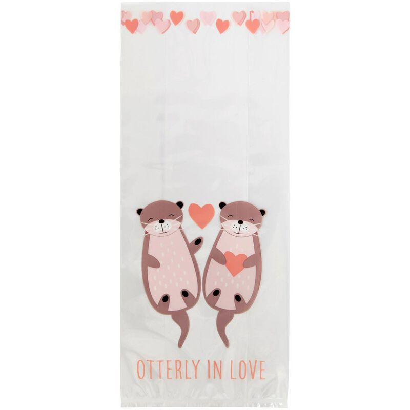 Valentine's Day Otterly in Love Treat Bags, 20-Count image number 2