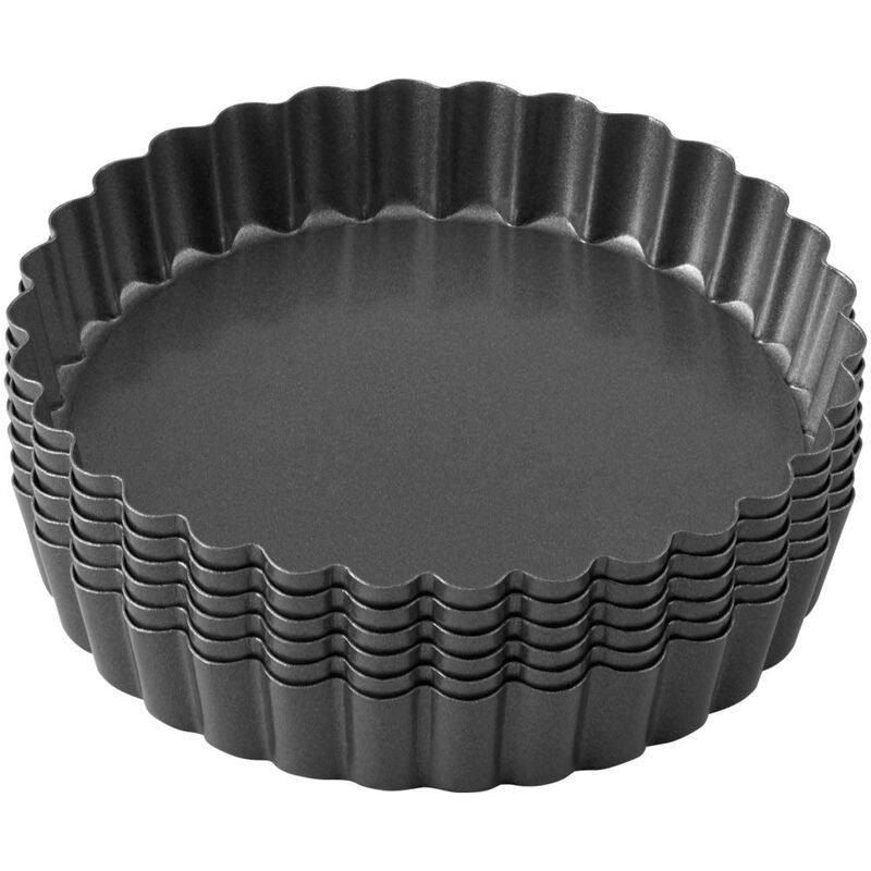 Perfect Results Non-Stick Tart Pan Set, 6-Piece image number 2