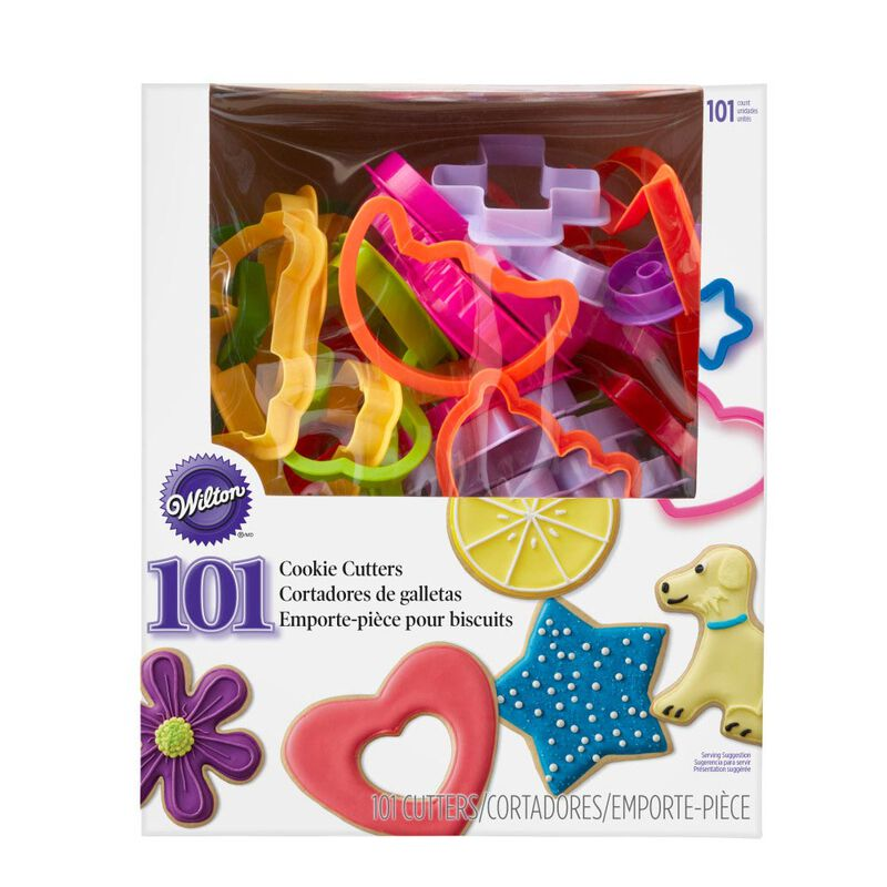 Plastic Cookie Cutter Set, 101-Piece image number 1