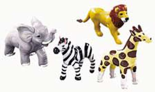jungle animals topper set wilton