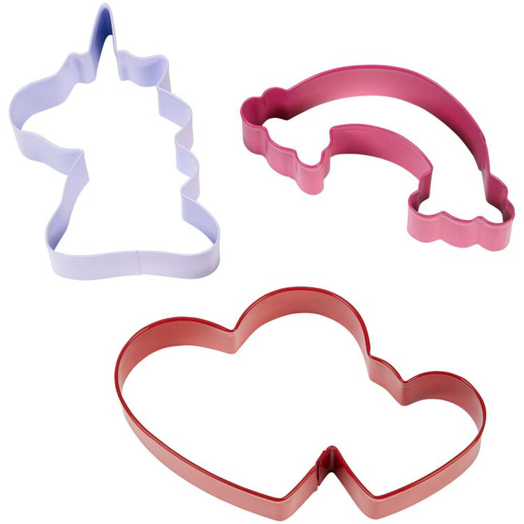 Valentine's Day Magical Cookie Cutter Set, 3-Piece
