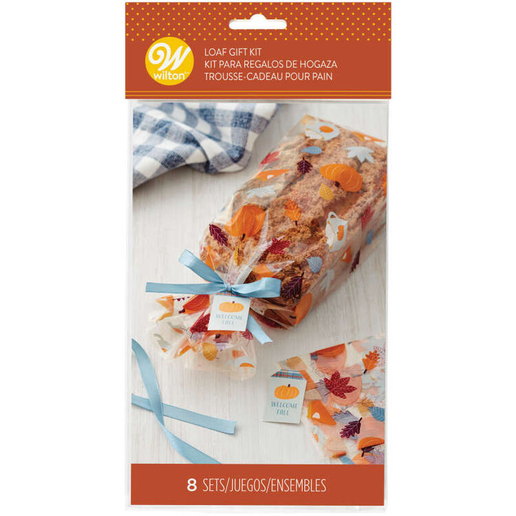 Fall Foliage Loaf Gift Kit, 8-Count