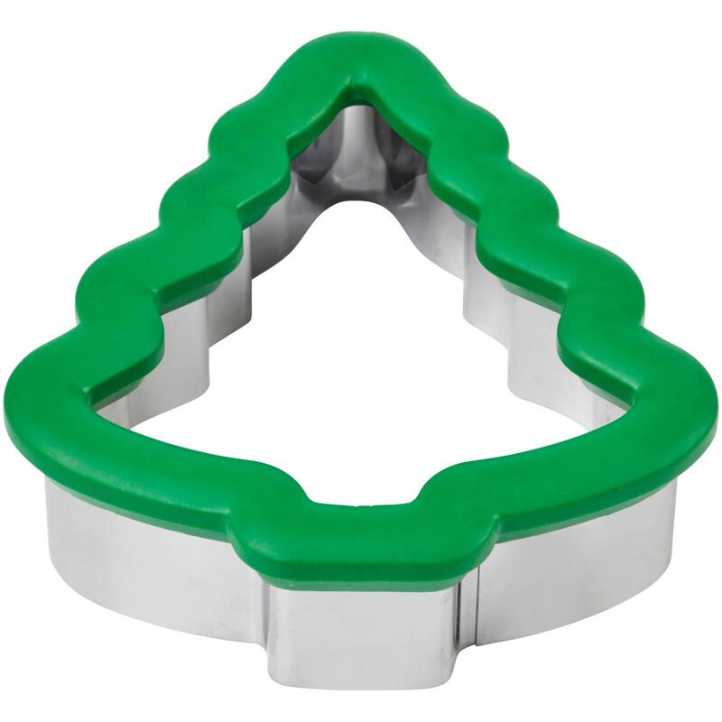 Large Holiday Tree Comfort-Grip Cookie Cutter image number 2