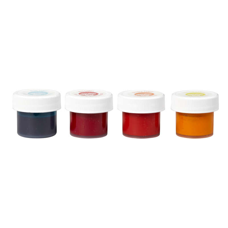 Candy Decorating Oil-Based Food Coloring Primary Colors Set, 1 oz. image number 1