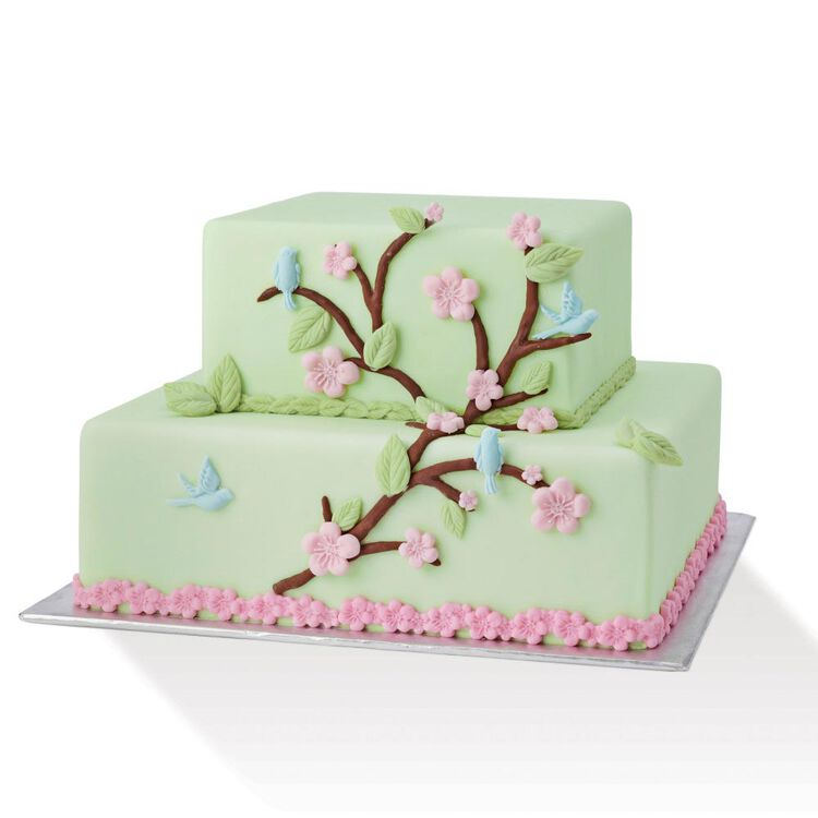Silicone Nature Designs Fondant and Gum Paste Mold - Cake Decorating Supplies
