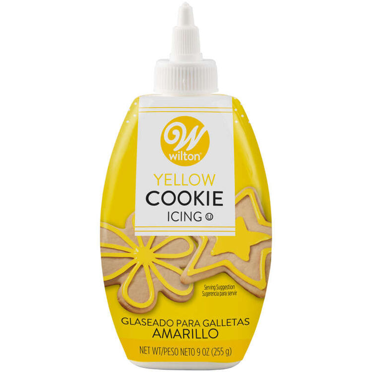 Yellow Cookie Icing