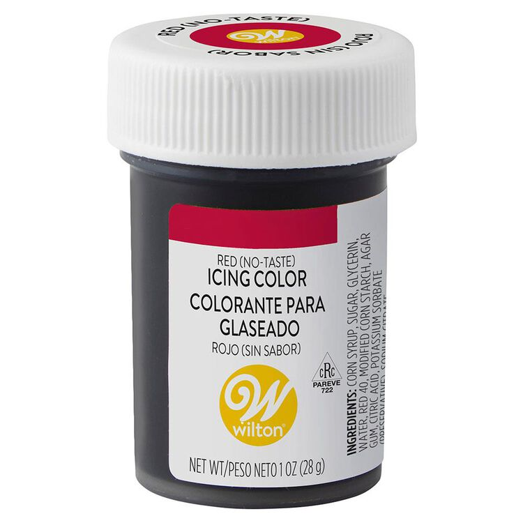 No-Taste Red Icing Color, 1 oz.