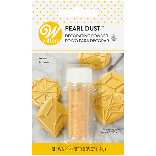 Yellow Color Dust, 0.05 oz.