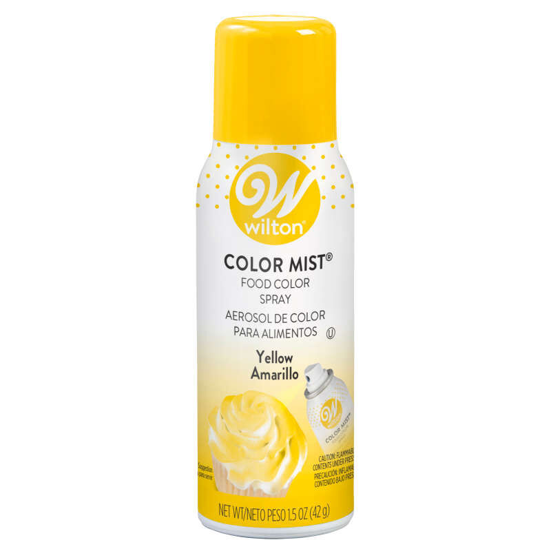 Yellow Color Mist Food Color Spray image number 0