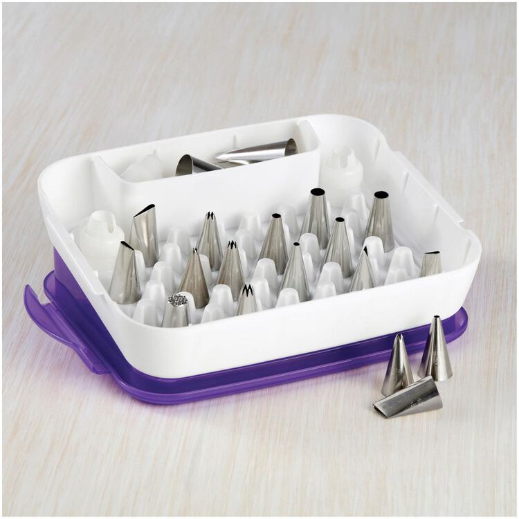 Piping Tips Organizer Case - Cake Decorating Supplies