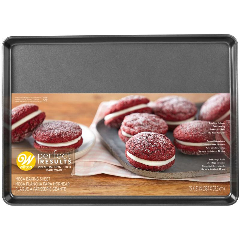 Perfect Results Premium Non-Stick Bakeware Mega Cookie Pan, 15 x 21-Inch image number 1