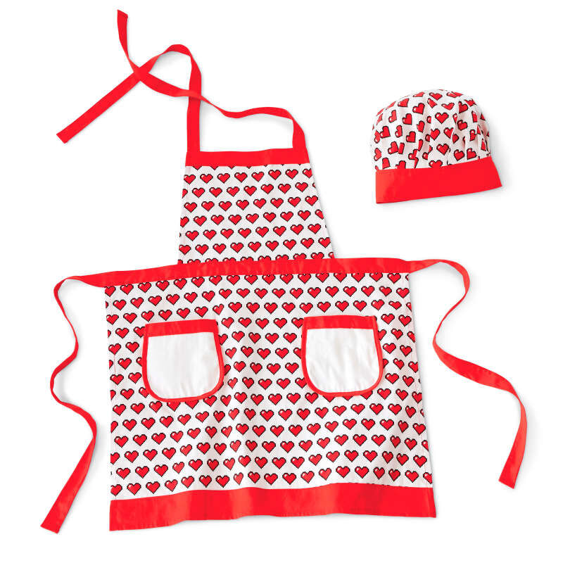 Rosanna Pansino by Apron and Hat Set, 2-Piece image number 0