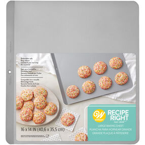 Stainless Steel Insulated Cookie Baking Sheet, 16 x 14-Inch
