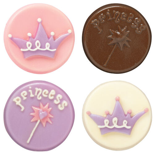 Princess Cookie Candy Mold