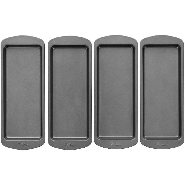 Easy Layers! 10 x 4-Inch Loaf Cake Pan Set, 4-Piece