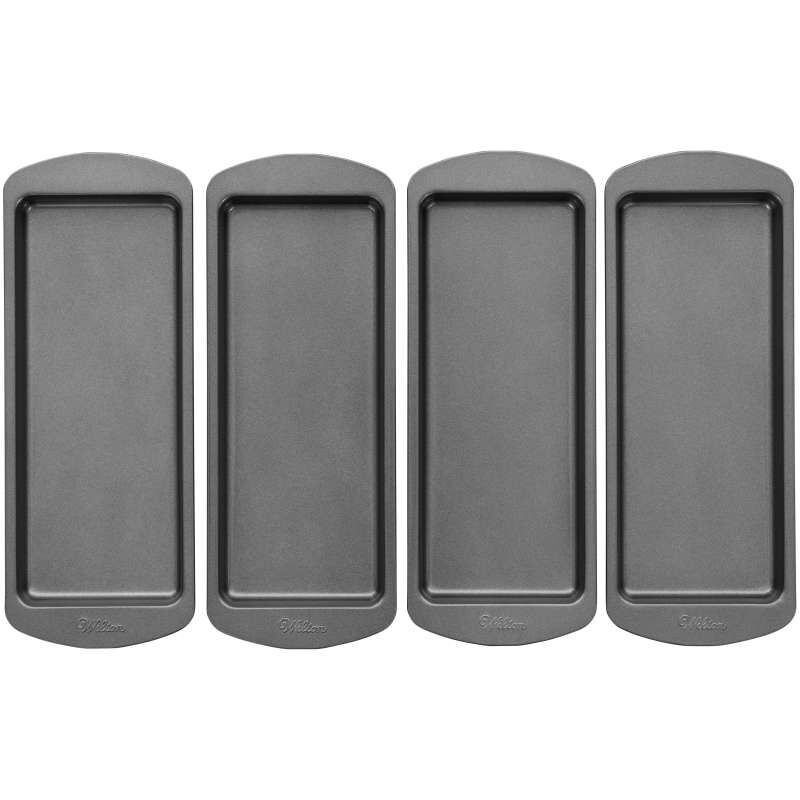 Easy Layers! 10 x 4-Inch Loaf Cake Pan Set, 4-Piece image number 1