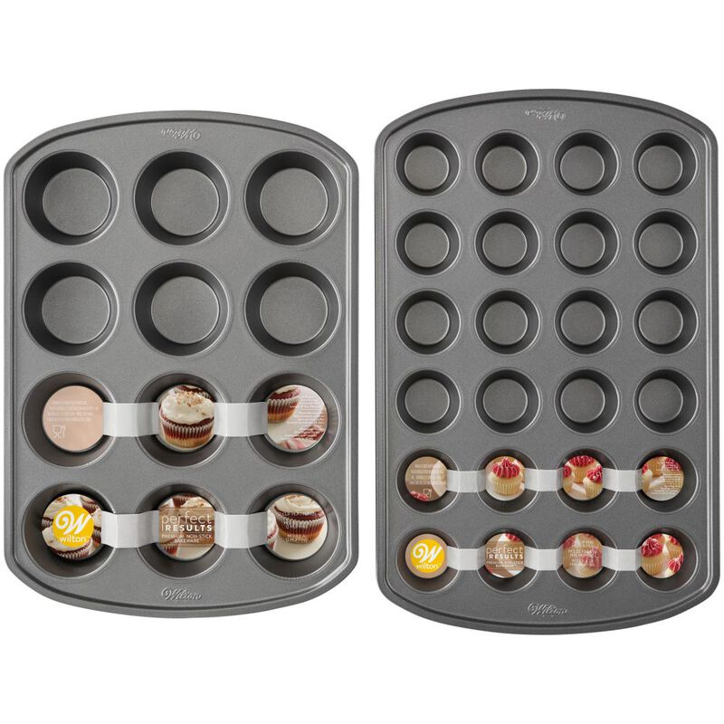 Perfect Results Premium Non-Stick Muffin Pan Set, 2-Piece image number 1