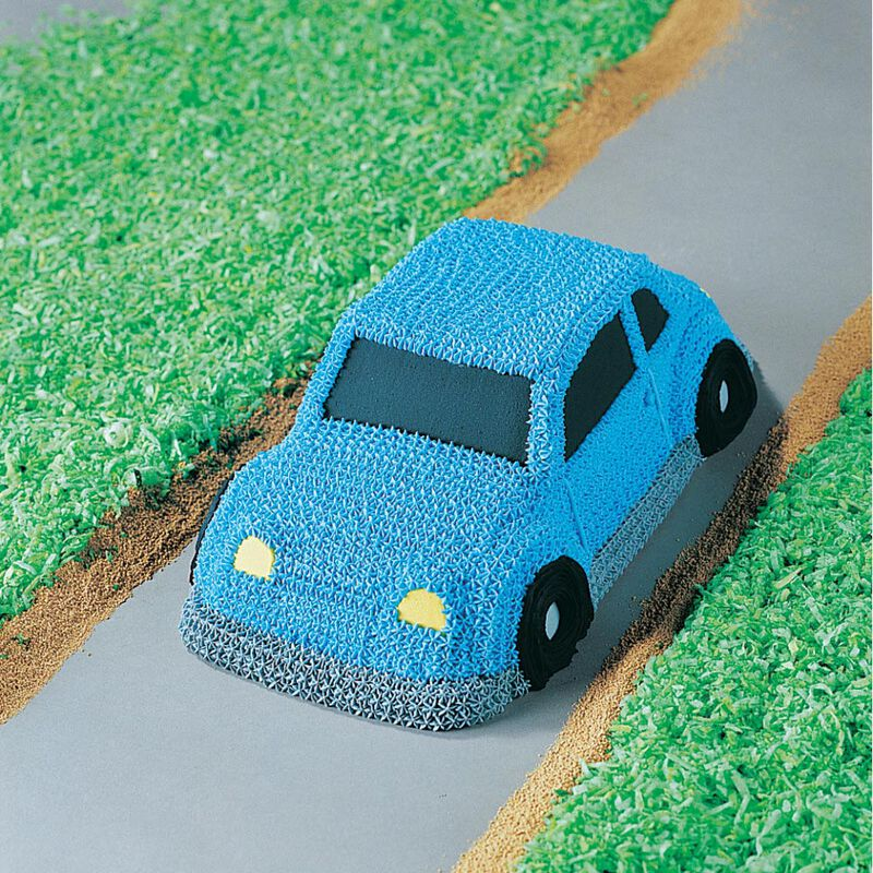Car Cake Pan, Kids 3D Birthday Cake Pan image number 3
